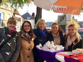 Stand der Frauen Union in Bergisch Gladbach