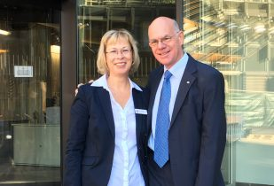 Doro Dietsch mit Bundestagspräsident Prof. Dr. Norbert Lammert